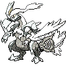 metallic kyurem (white)