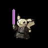 Metallic Pikachu (Jedi)