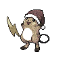 Metallic Raichu (Christmas)