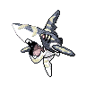 Metallic Sharpedo (Mega)
