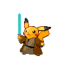 Shiny Pikachu (Jedi)