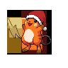Shiny Raichu (Christmas)